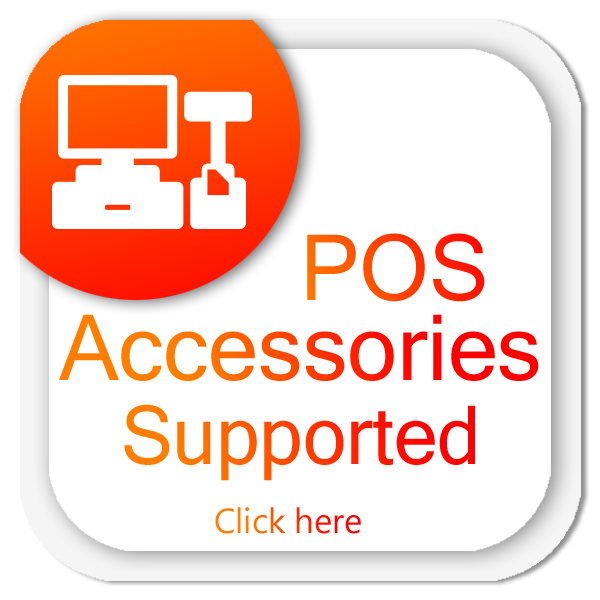 POS Accessories Supported fast billing Software